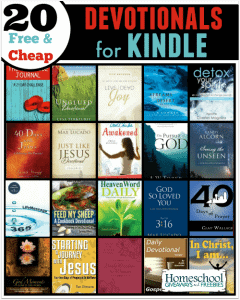 20 Free and Cheap Devotionals for Kindle