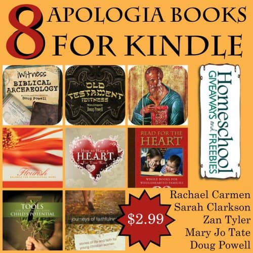 8 Apologia Books for Kindle $2.99
