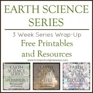 Earth Science Series Wrap-Up