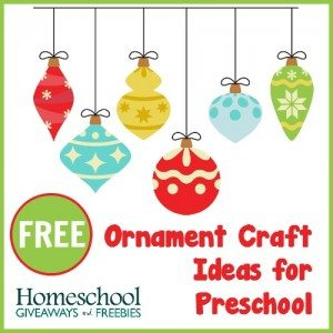 FREE Ornament Craft Ideas for Preschool (1)