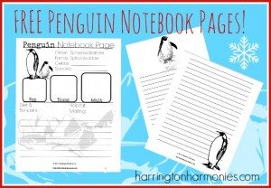 Free-Penguin-Notebook-Pages