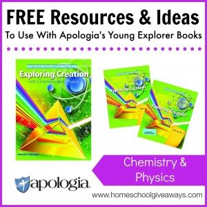 Free Resources and Ideas to Use with Apologia's Young Explorer Books - Chemistry and Physics