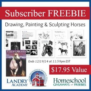 Landry Academy Horse FREEBIE