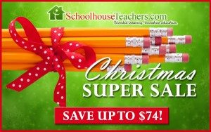 Schoolhouse Teachers Super Sale
