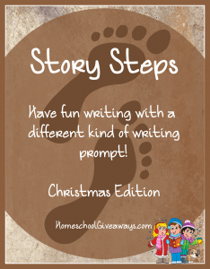 Story Steps Writing Prompts Christmas Edition