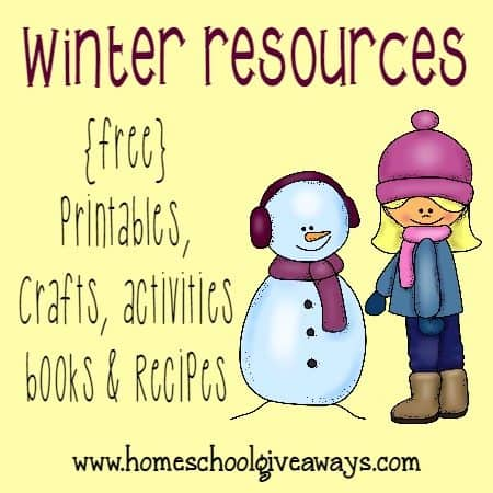the first official day of winter is in just a few days here are some - Free Printables For Toddlers