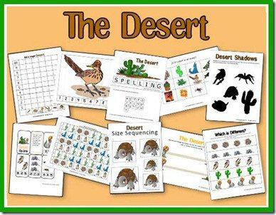 Free Desert Animals Unit Study ... - homeschoolshare.com