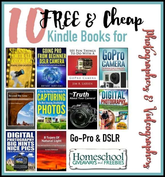 10 FREE & Cheap for Kindle Photographers