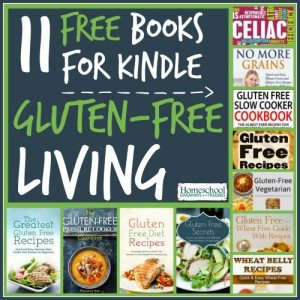 11 Free Books for Kindle for Gluten-Free Living