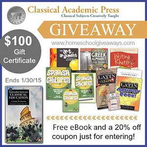 Classical Academic Press Giveaway 2