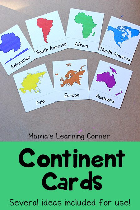 Continent-Cards
