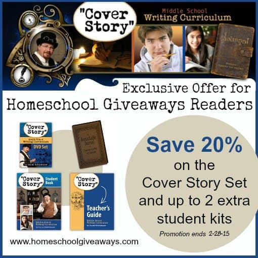 Exclusive Sale On Cover Story Middle School Writing Curriculum From