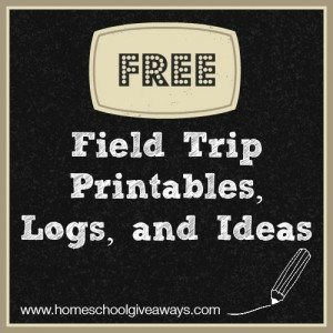Field Trip Printables