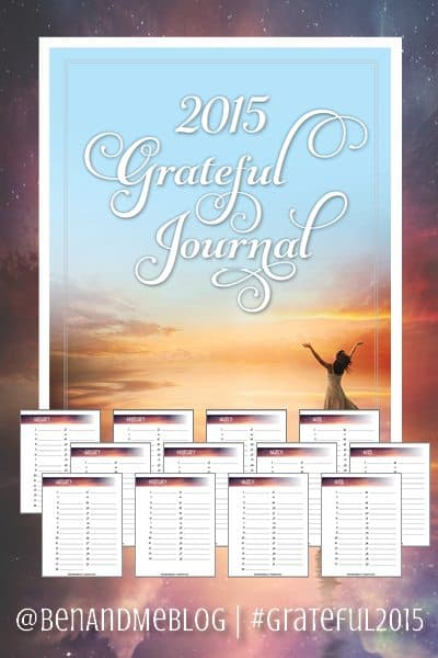 Grateful Journal 2015