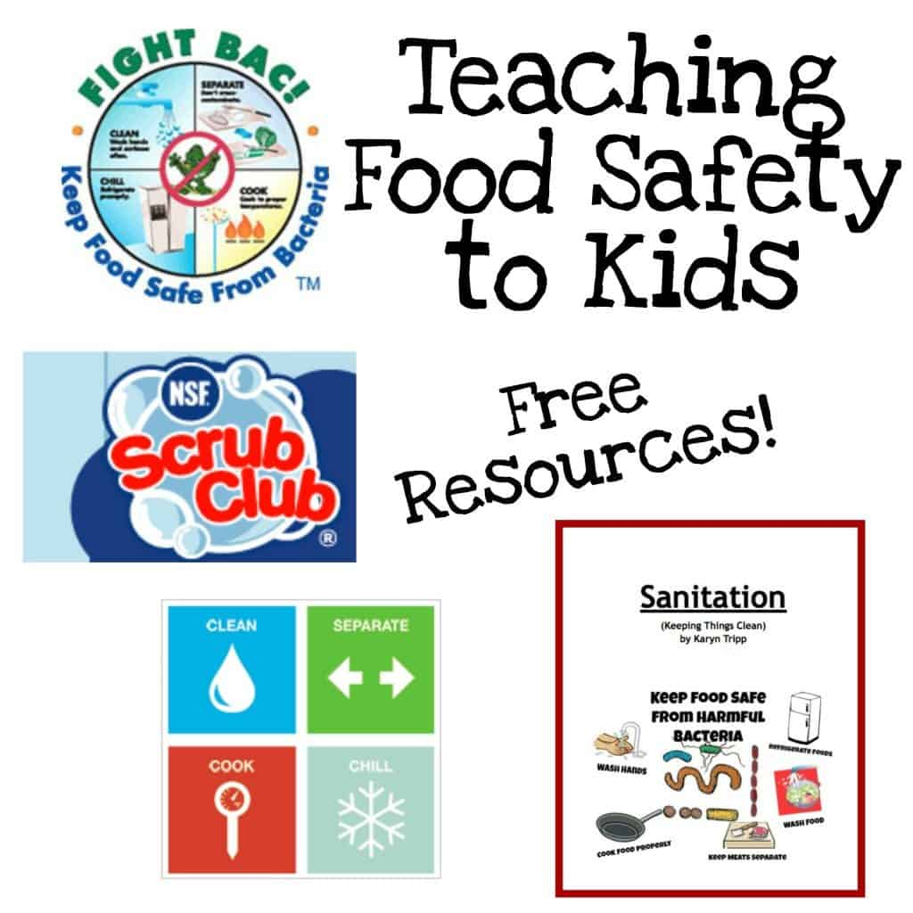 Kitchen Safety Signs Download: FREE Printable Book To Teach Kids Food Safety