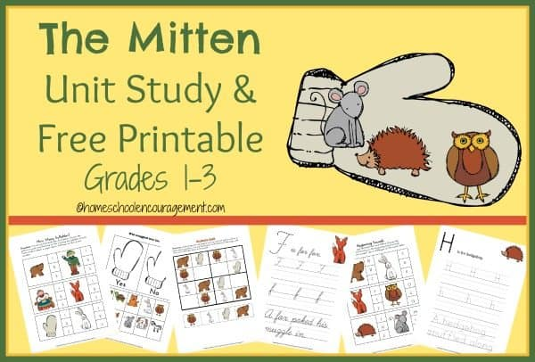 image relating to The Mitten Printable Book named The Mitten System Review Cost-free Printable - Homeschool Giveaways