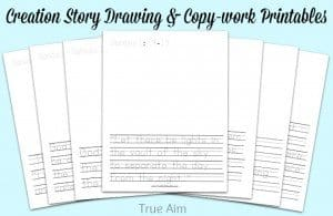 creation-story-drawing-and-copywork-printables