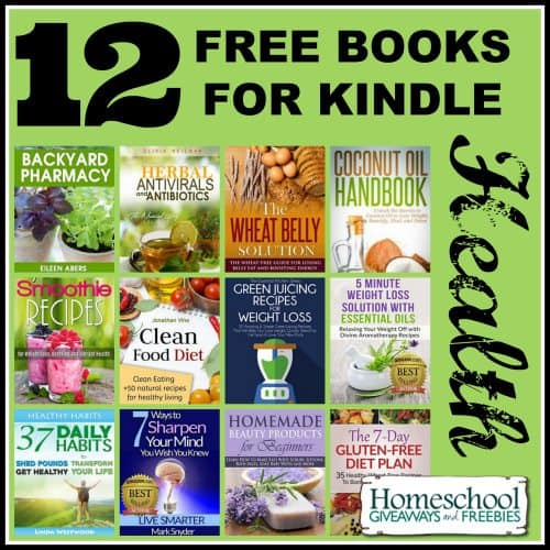 12 Free Books for Kindle for Health