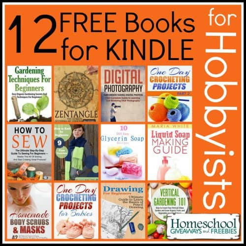 12 Free Books for Kindle for Hobbyists