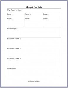 FREE Printable Outline for the Five Paragraph Essay www.homeschoolgiveaways.com Download this free printable for outlining a 5-paragraph essay!