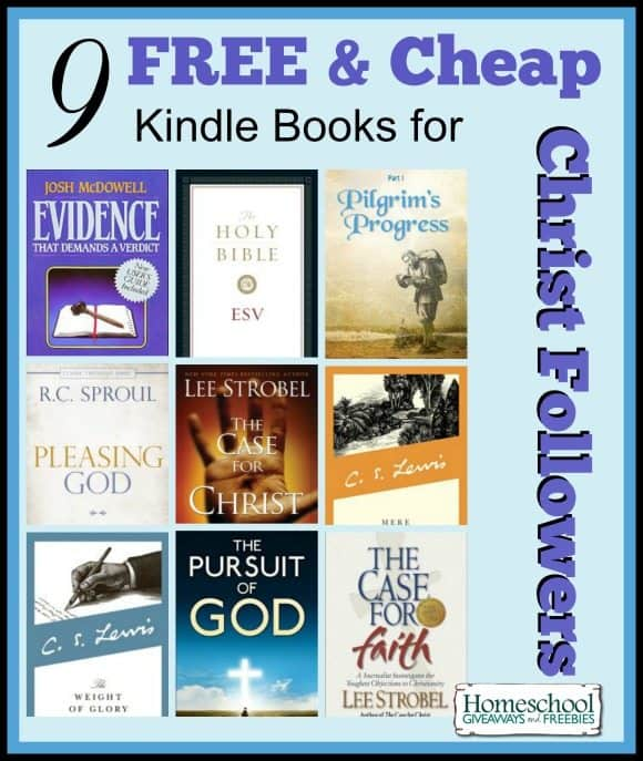 9 Kindle books for Christ Followers