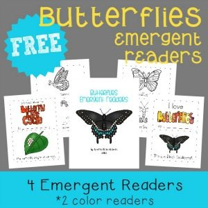 Spring will be here before you know it and these fun Butterfly Emergent Readers are the perfect compliment to any Spring studies! :: www.homeschoolgiveaways.com