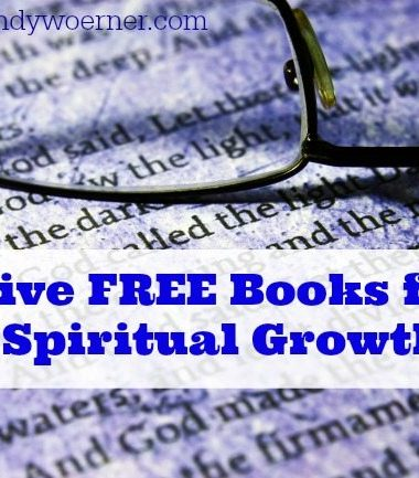 Five Free Books for Spiritual Growth www.homeschoolgiveaways.com Get these FREE books for Kindle PLUS recommended resources for marriage and family!