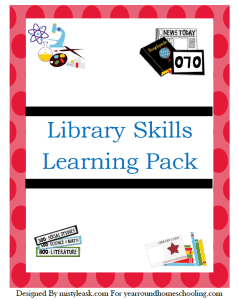 Free-Library-Skills-Printable-Pack