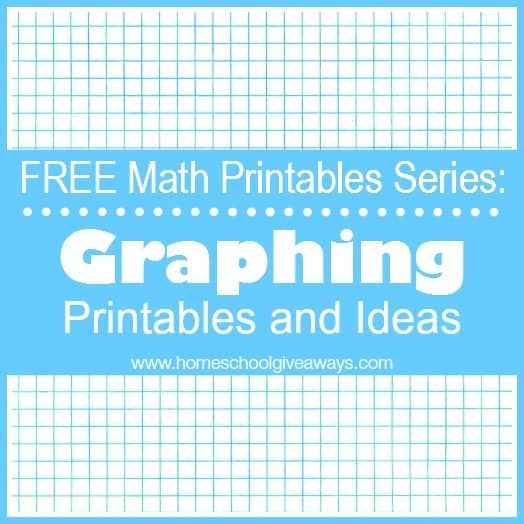 FREE Math Printables Series: Graphing Printables and Ideas