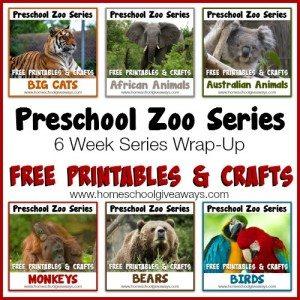 Preschool Zoo Series Wrap-Up