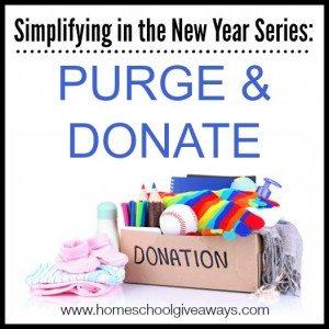 Purge and Donate