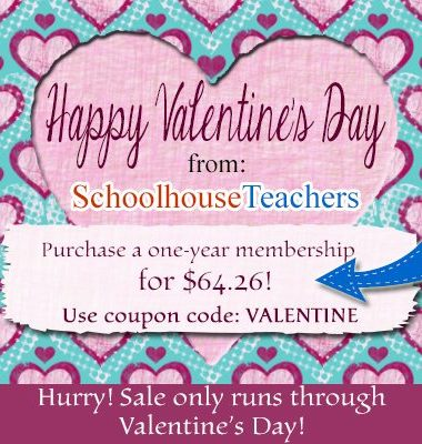Save More Than Half Off on Schoolhouse Teachers