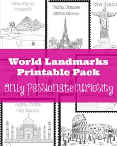 World-Landmarks-Printable-Pack-400x500