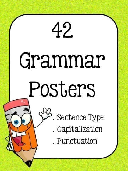 grammar-posters