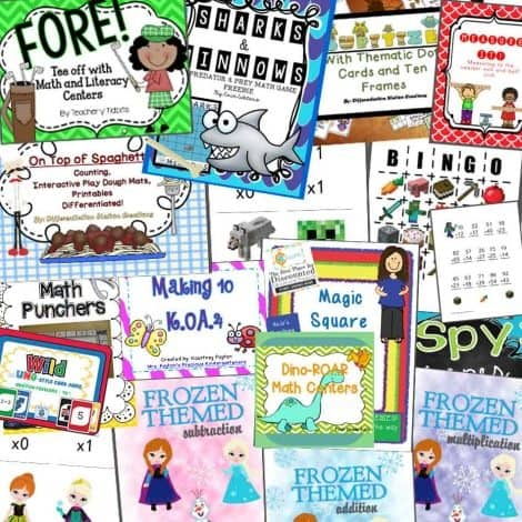HUGE Math Freebie Pack ($58 Value) thru 2/19/15 :: www.homeschoolgiveaway.com
