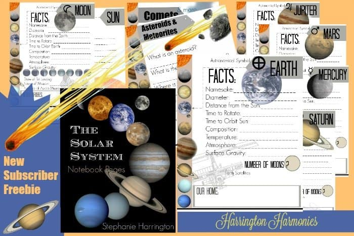 solar system notebooking - photo #3
