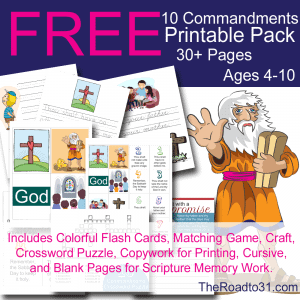 10commandmentssubscriberfreebie