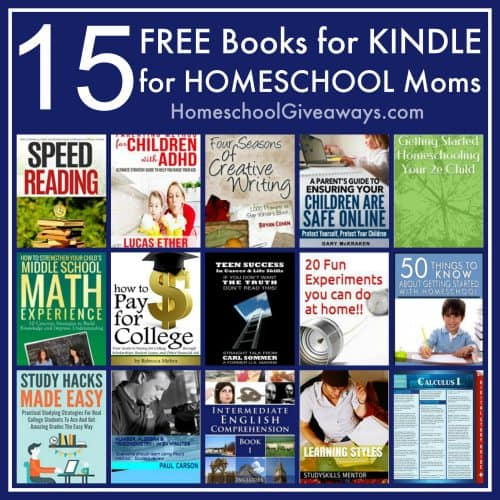 15 Free Books for Kindle for Homeschool Moms