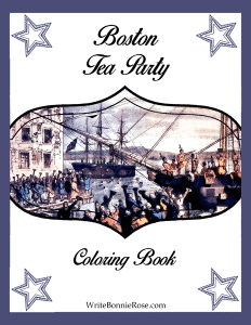 Boston Tea Party Coloring Book