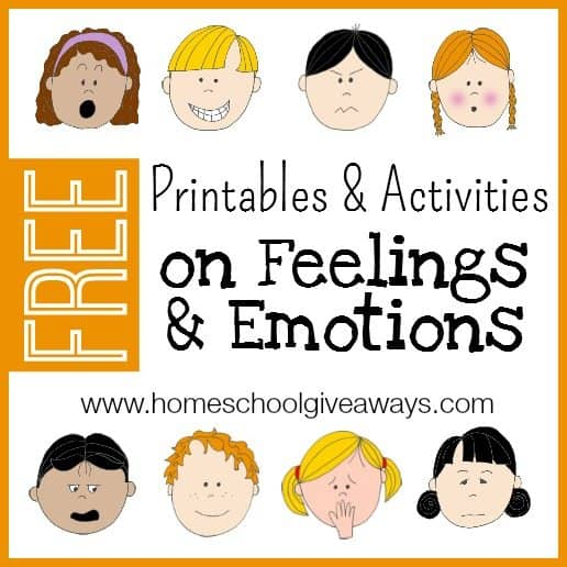 picture relating to Free Printable Emotion Faces called No cost Printables and Routines upon Thoughts and Feelings