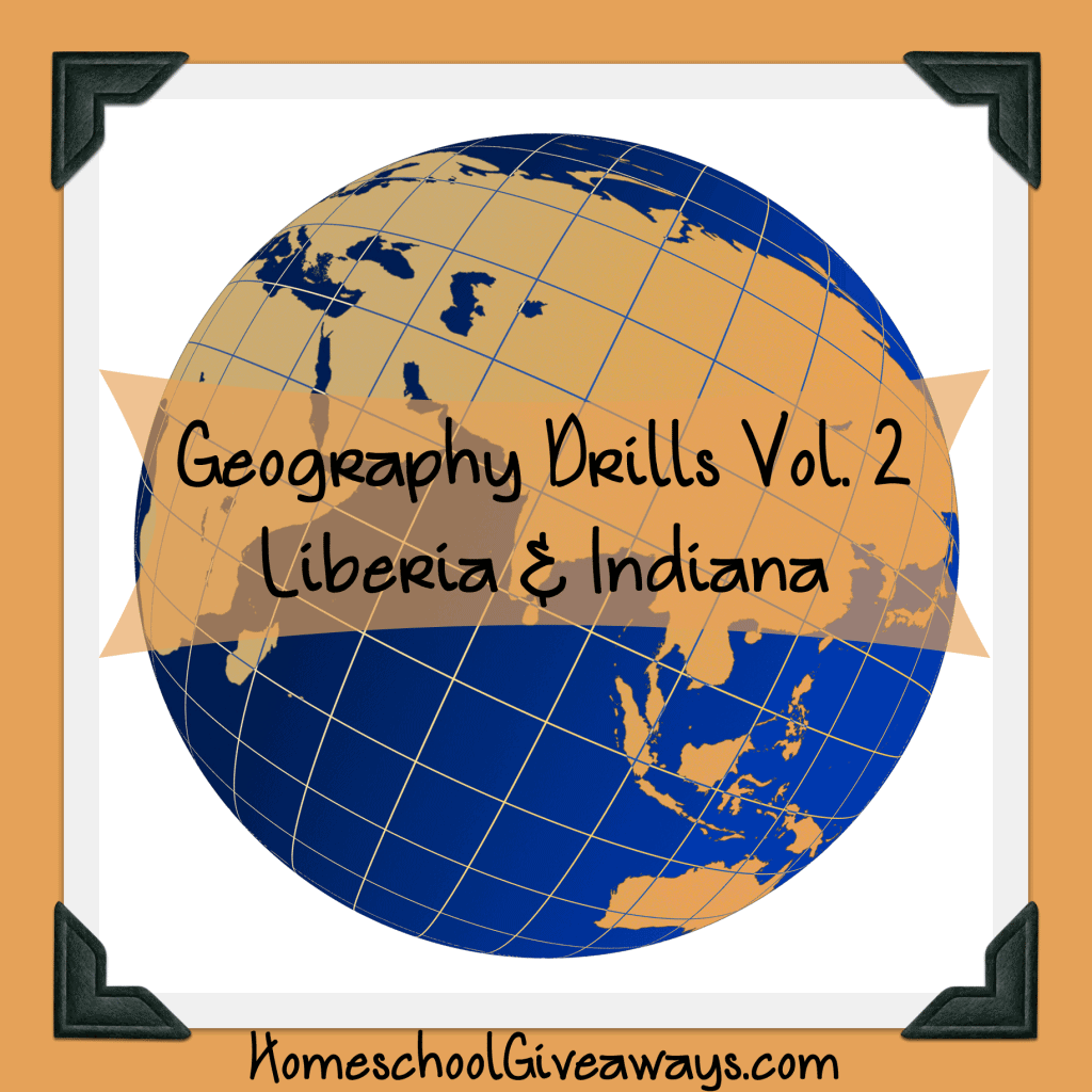 Free Geography Drills Volume 2 - Liberia and Indiana