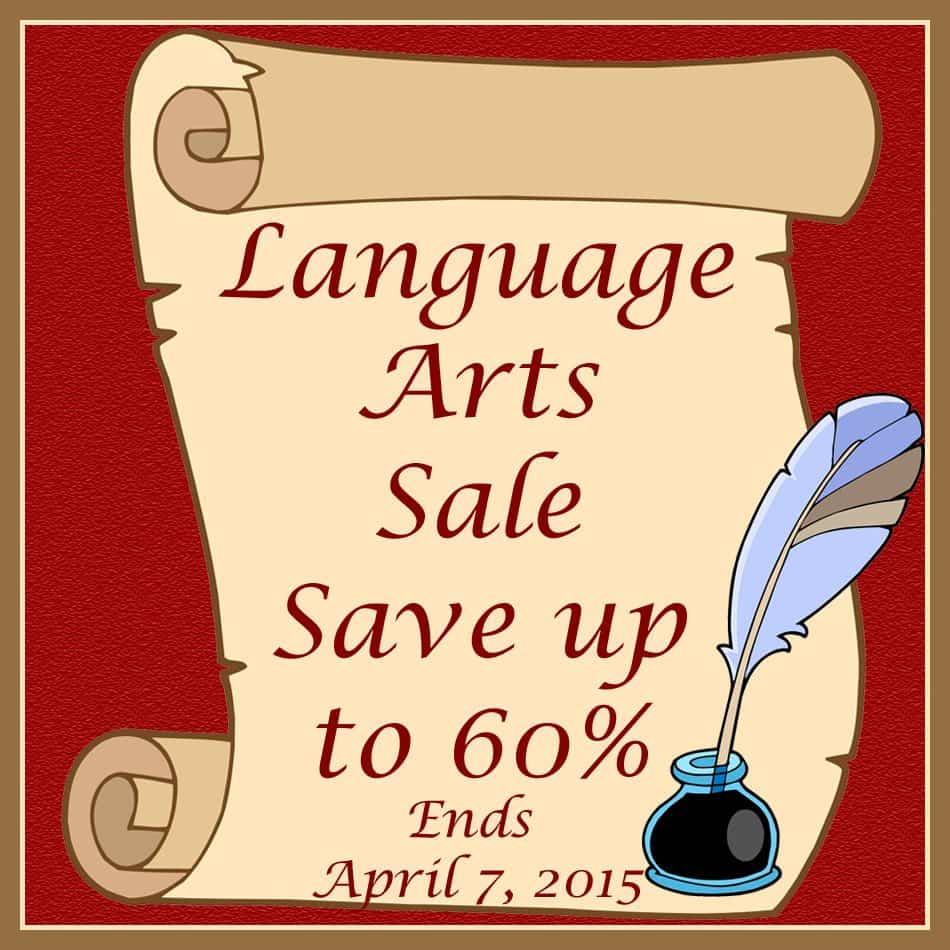 Language Arts Sale