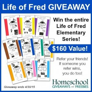 Life of Fred Giveaway