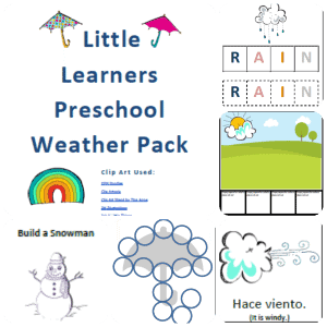 Little-Learners-Preschool-Weather-Packet