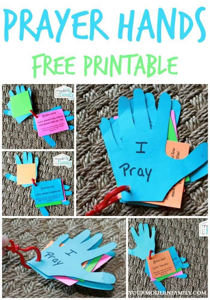 FREE Printable Prayer Hands