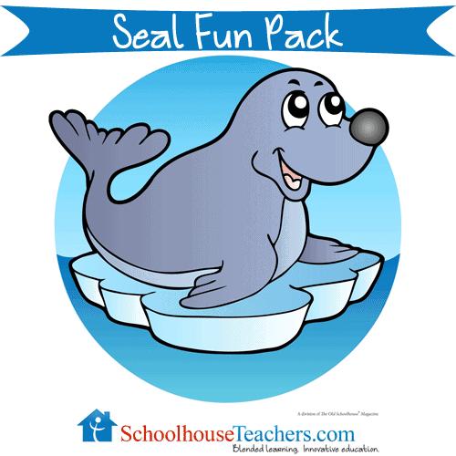 Seal Fun Pack Free Homeschool Printable