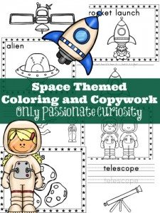 Space-Themed-Coloring-and-Copywork-375x500