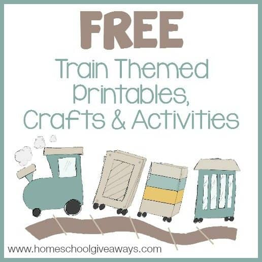 Here are some great FREE Train Themed Printables, Crafts and ...