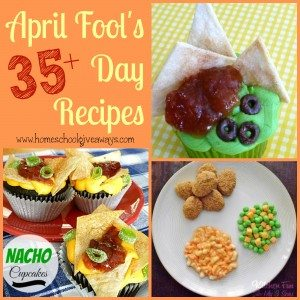 April Fool's Day is a great time to pull some simple, fun and EDIBLE pranks on your family and friends! Here are 35+ great ideas to get you started!! :: www.homeschoolgiveaways.com