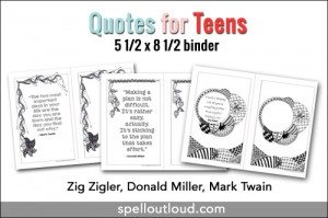 FREE Quote Printables for High School www.homeschoolgiveaways.com Grab these FREE quote printables for your high school students!